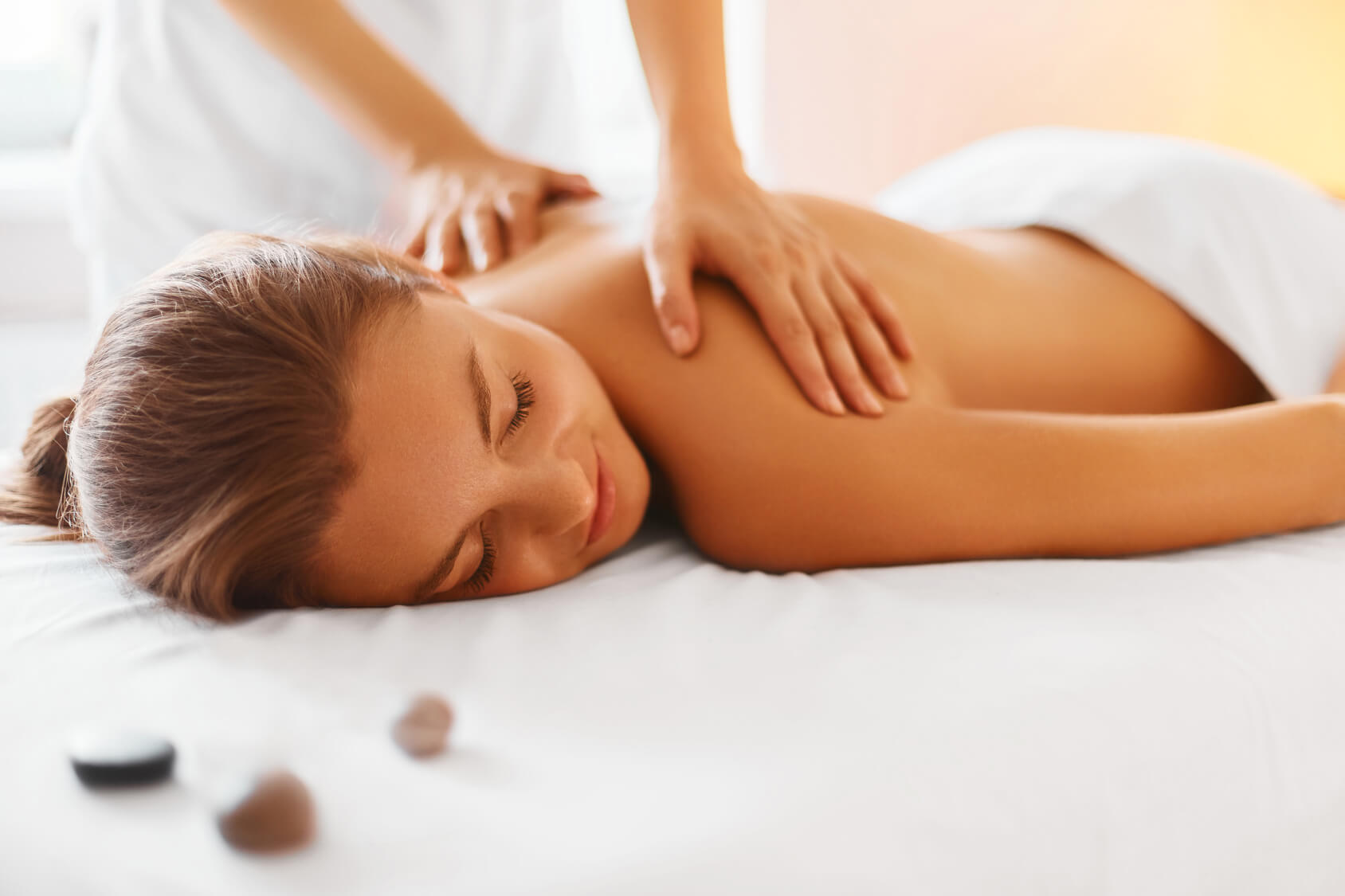 Services including In-Home Massage, facials and body wraps