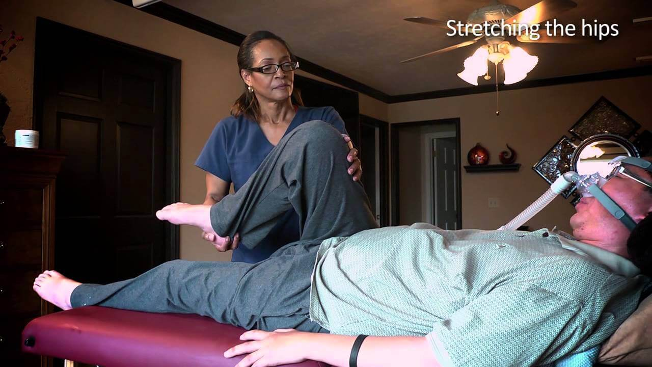 als disease and massage therapy