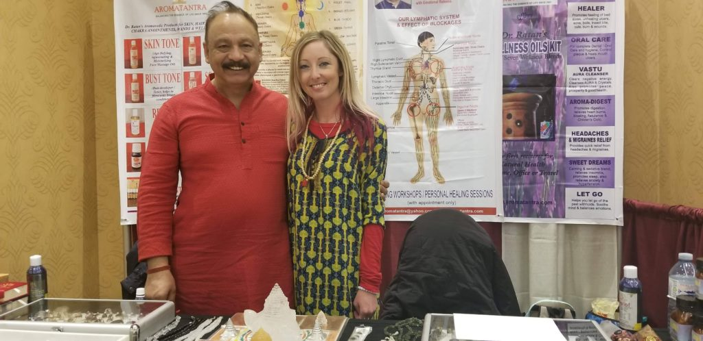 ravi-and-krista-1024x498 Chakra Balancing Massage-What I learned from Dr. Ravi Ratan