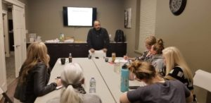 Dr Ravi teaches aromatherapy and Chakra Balancing