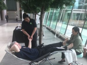 In-Office massage is a great way to show staff appreciation