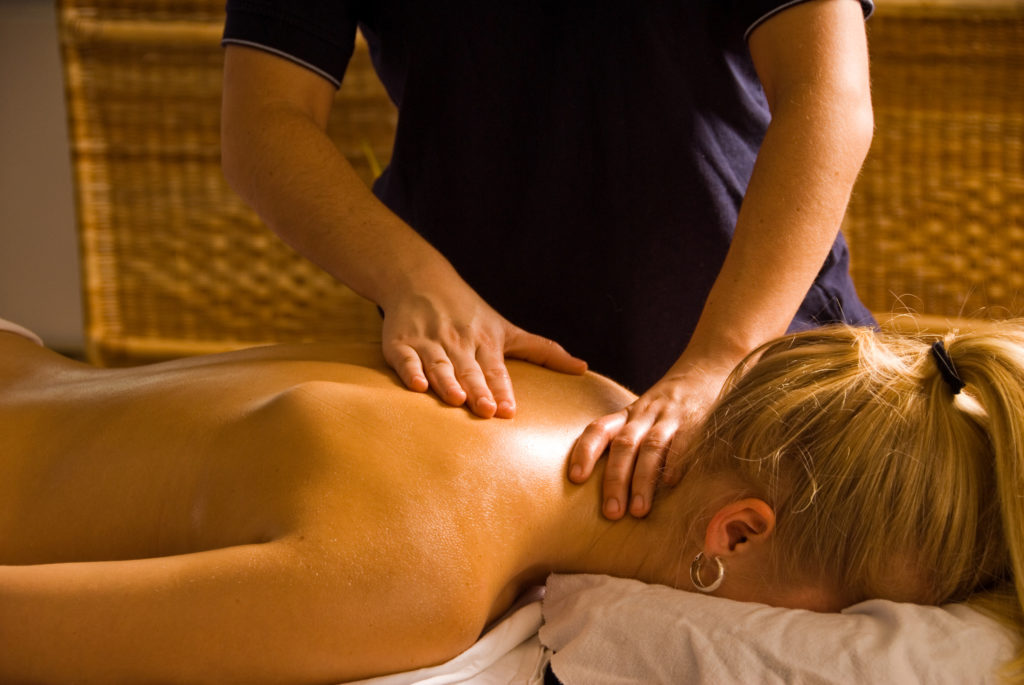 Massage is the only way to unwind from a long day of travel.